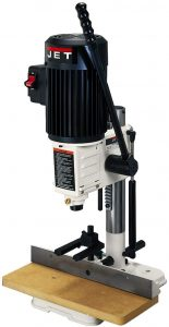Jet Bench Mortiser, 12 HP, 120V, ½ inch Cap