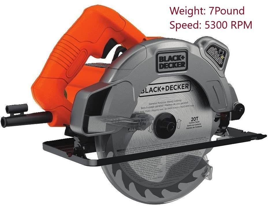 Black+Decker BDECS300C Circular Saw