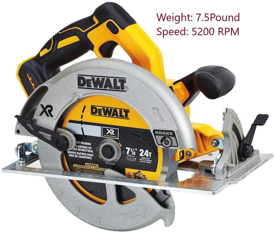 DEWALT DCS570B Circular Saw