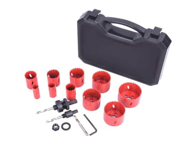 Sungator 14-Piece Bi-Metal Hole Saw Kit