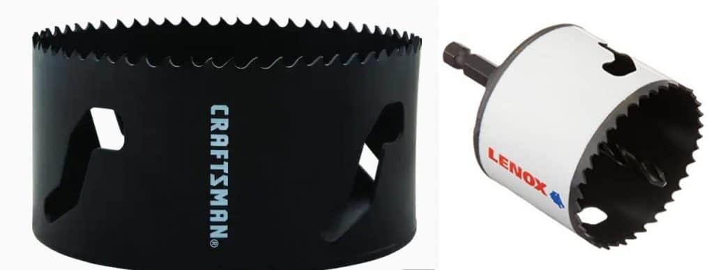 Arbored-vs-Non Arbored hole saw